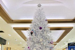 DOMショッピングセンターに「MARUI X'mas – FROZEN MEMORY -」タイアップ・クリスマスツリーが登場!
